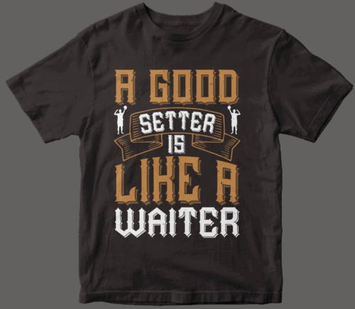 A good setter is like a waiter