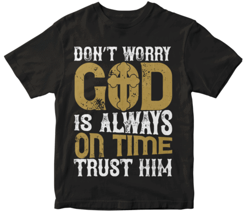 Don't worry. God is always on time. Trust him