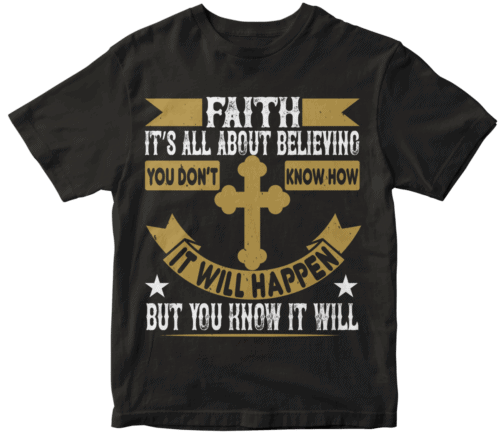 Faith. It's all about believing. You don't know how it will happen. But you know it will