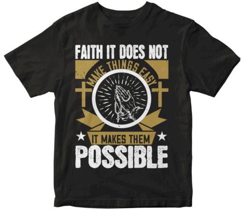 Faith. It does not make things easy, it makes them possible