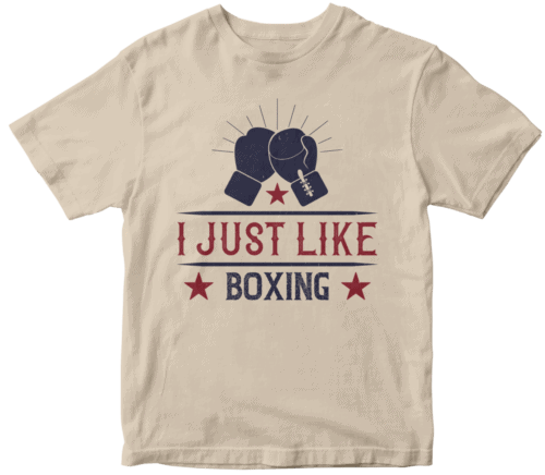 I just like boxing-