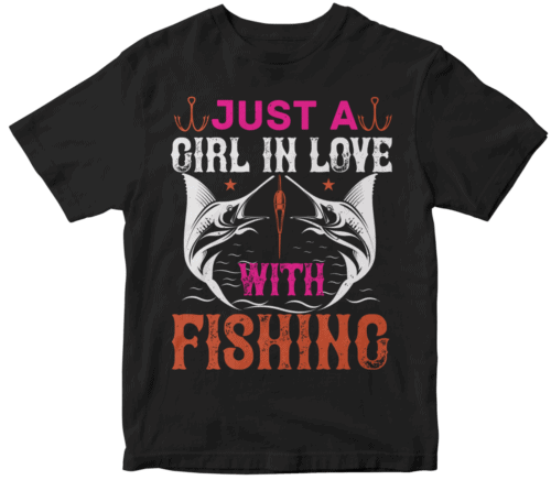 Just a GIRL IN LOVE with fishing