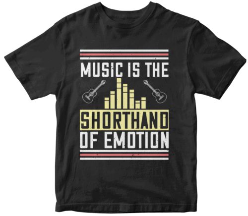 Music is the shorthand of emotion