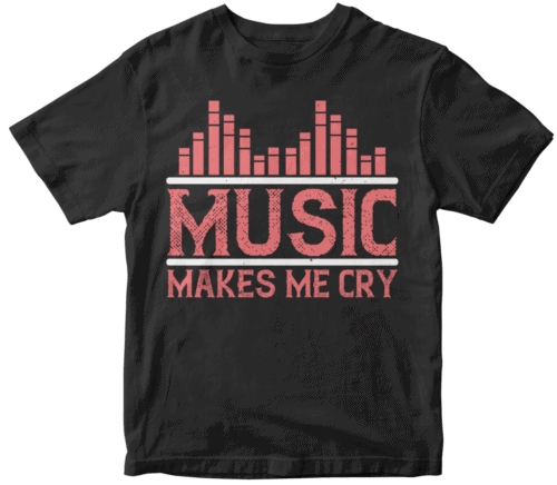 Music makes me cry