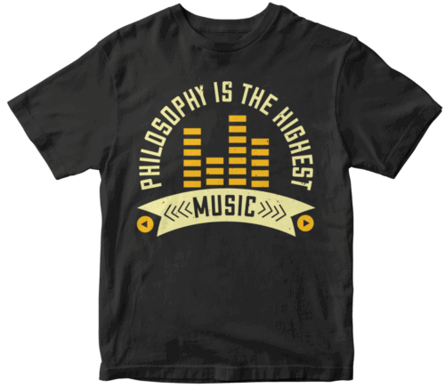 Philosophy is the highest music