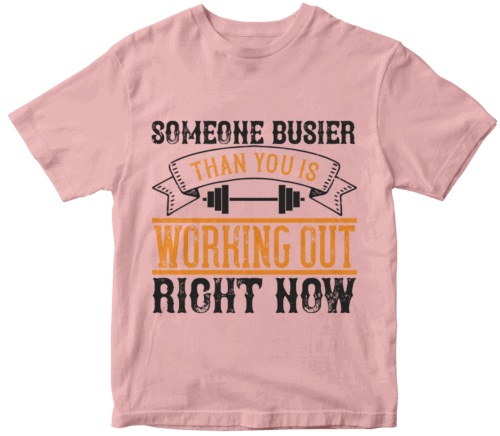 Someone busier than you is working out right now