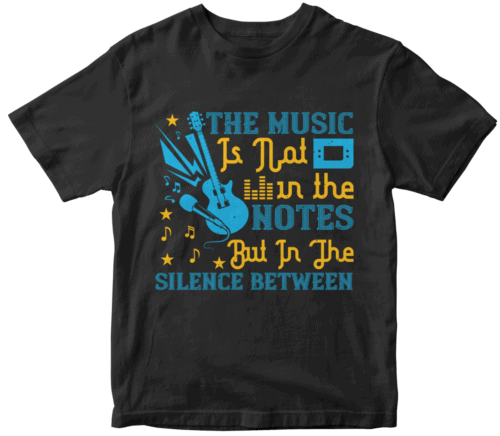 The music is not in the notes, but in the silence between