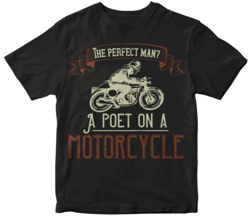 The perfect man A poet on a motorcycle