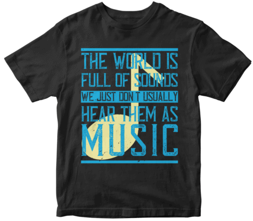 The world is full of sounds. We just don't usually hear them as music