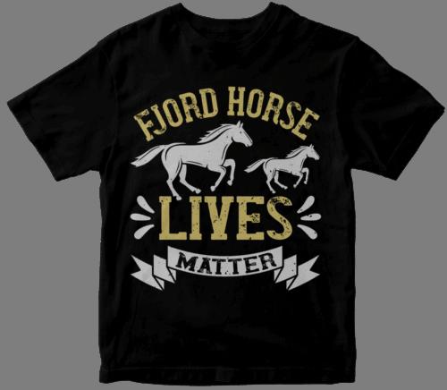 fjord horse lives matter