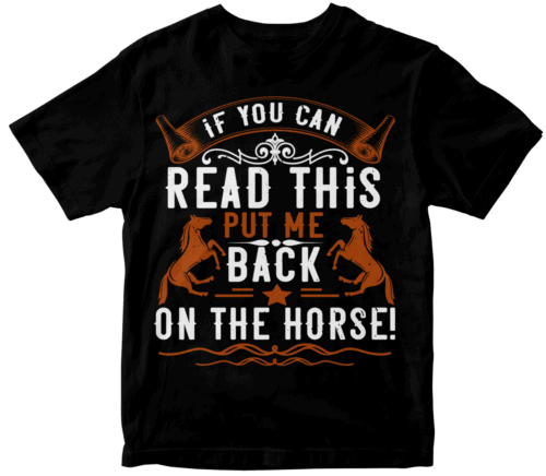 if you can read this put me back on the horse!